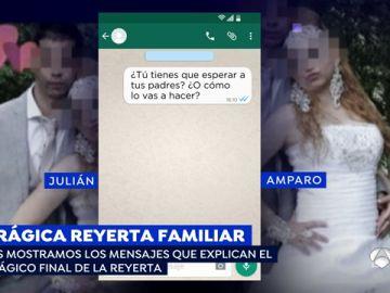 'Espejo Público' difunde los WhatsApp que desencadenaron la tragedia que se saldó con tres muertos en Cáseda