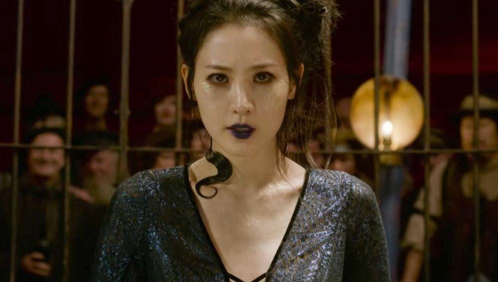 Claudia Kim es Nagini en 'Animales Fantásticos: Los crímenes de Grindelwald'