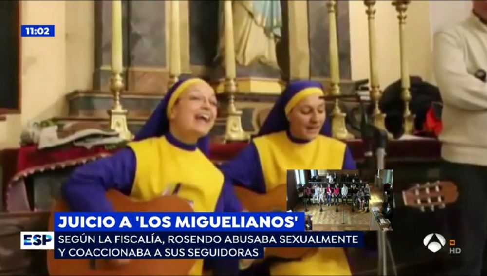 """Los abusos del líder de 'los Miguelianos': """"Me decía que por su semen me llegaba el cuerpo de Cristo"""""""