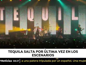 """""""Tequila"""" salta por última vez en los escenarios"""