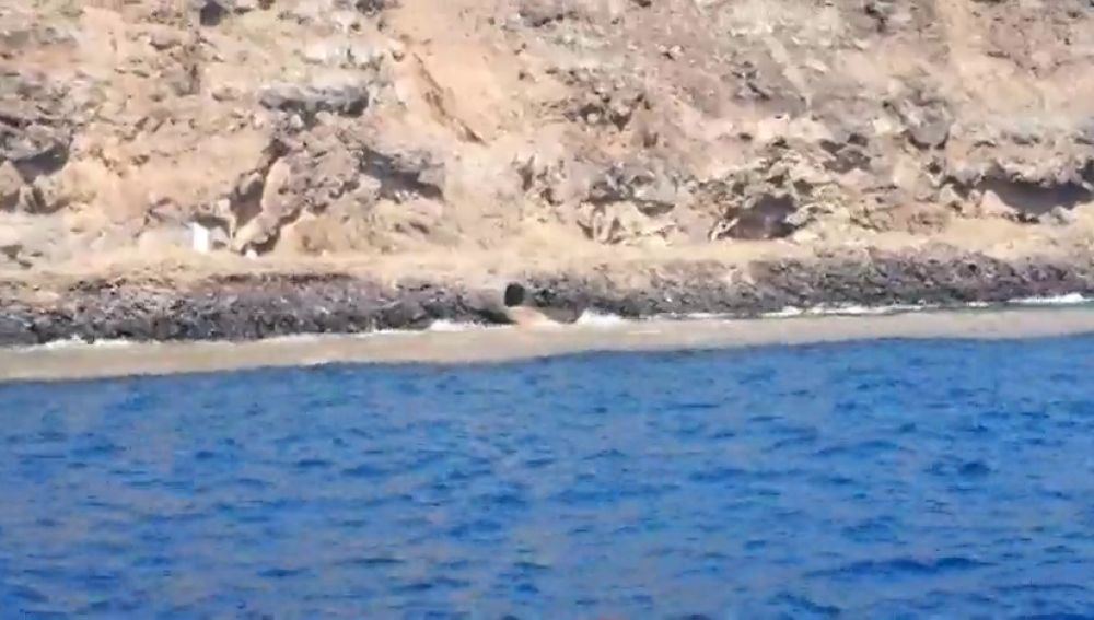 Una gran masa de vertidos residuales acaban directamente en el mar de Santa Cruz de Tenerife