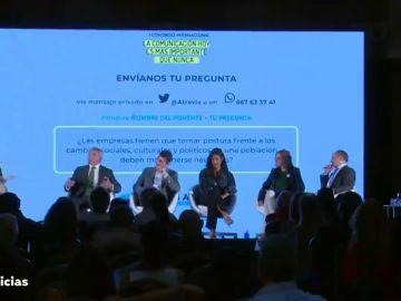 Bardají destaca la credibilidad de las marcas de Atresmedia en un evento en Madrid