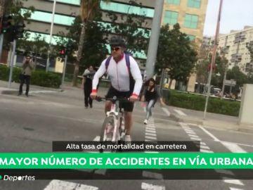 imprudencias ciclistas