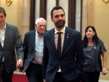 El presidente del Parlament Roger Torrent