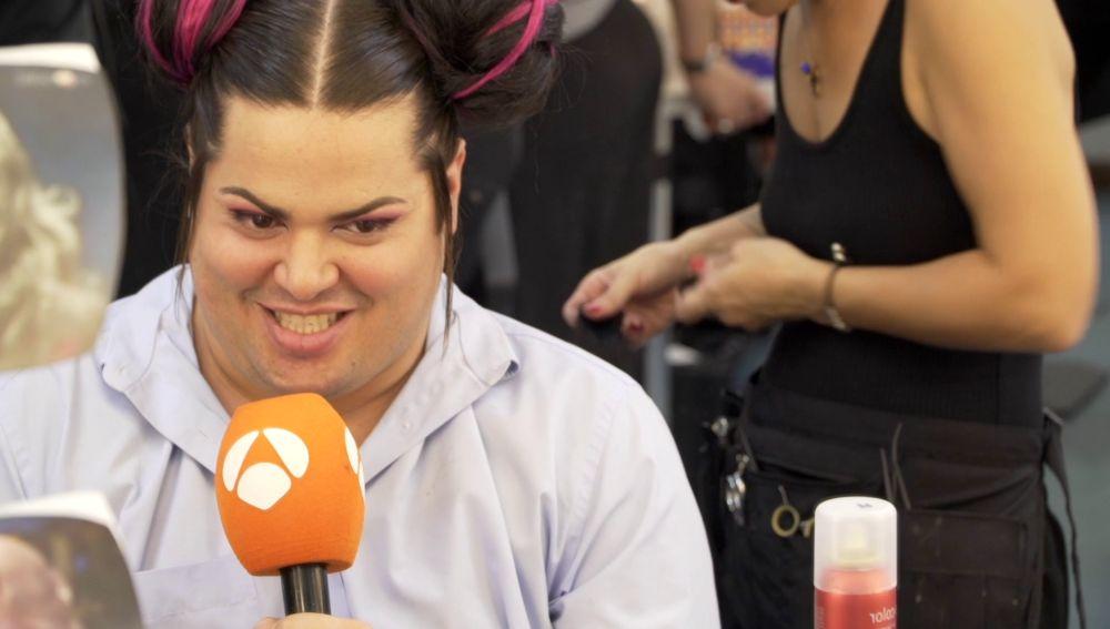 Así se prepara Brays Efe para convertirse en la eurovisiva Netta