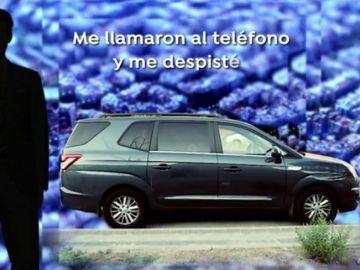 El coche en el que murió la niña tras ser olvidada