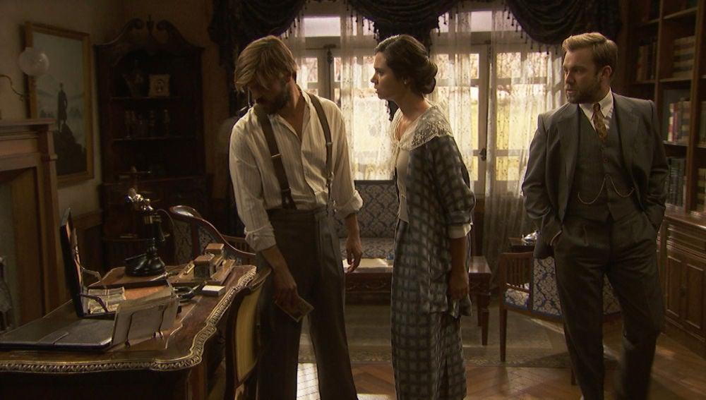 María vuelve a Puente Viejo muy cabreada con Gonzalo