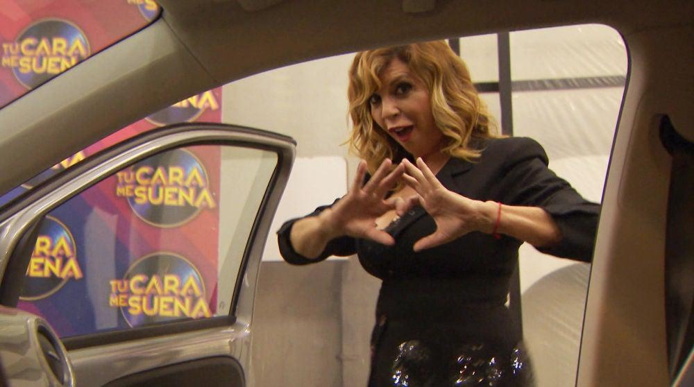 Belinda Washington se atreve con el Kiki Challenge en 'Tu cara me suena'