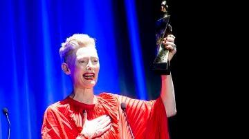 Tilda Swinton en el Festival de Sitges
