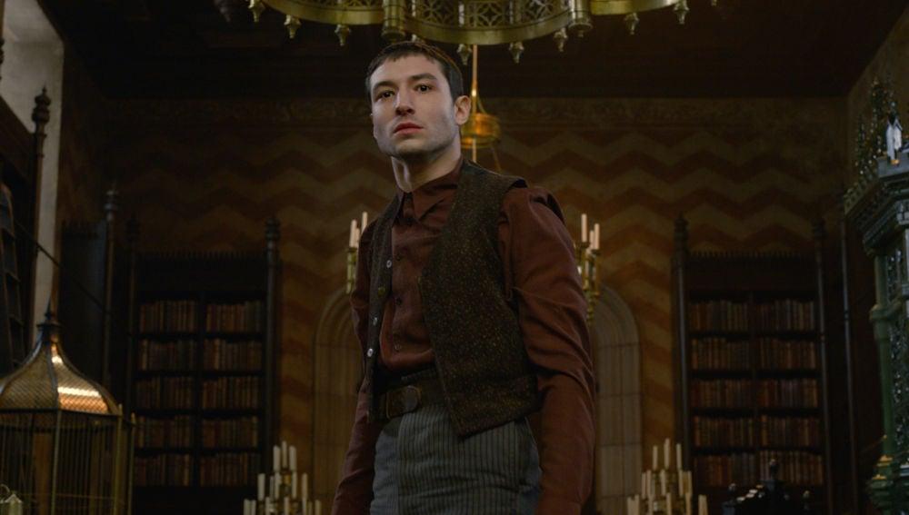 Ezra Miller en 'Animales Fantásticos: Los crímenes de Grindelwald'