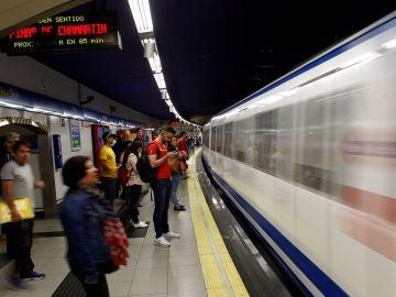 Imagen de una estación de Metro