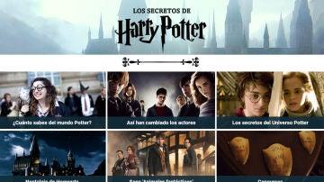 Todos los secretos de Harry Potter