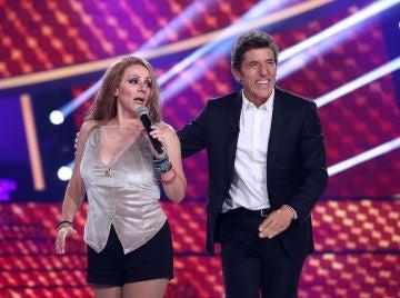 La espectacular voz de Anabel Alonso con el truco infalible de los cantantes