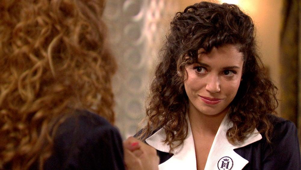 Amelia promete no delatar a Natalia