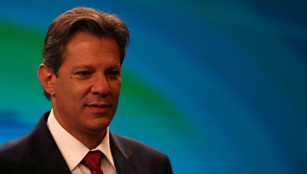 Fernando Haddad, candidato a la Presidencia de Brasil por el Partido de los Trabajadores