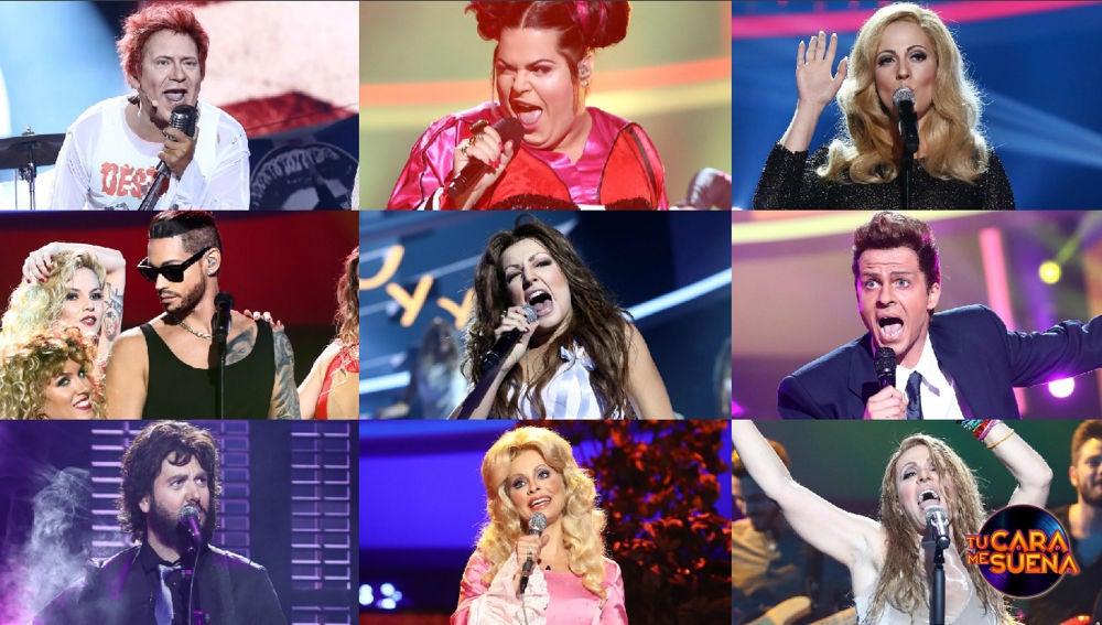 ¡Vota por la mejor actuación de la segunda gala de la séptima edición de 'Tu cara me suena'!