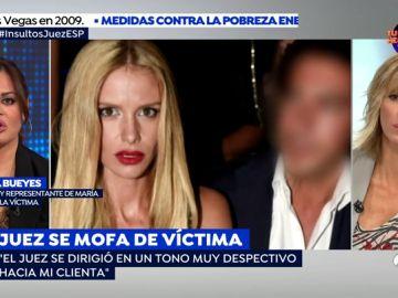 """La abogada de María San Juan, a la que el juez llamo 'hija puta': """"Es machista que se la vea como una aprovechada porque su marido sea rico"""""""