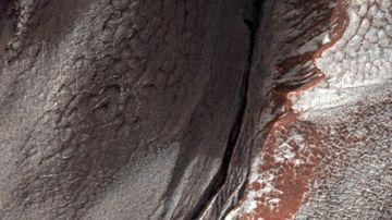 Imágen de Marte captada por la Mars Reconnaissance Orbiter