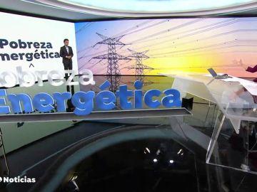 Así se prepara una noticia con realidad aumentada en el plató de Antena 3 Noticias
