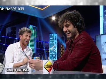 Vuelve a ver el vídeo de Melendi tras convertirse en uno de los integrantes del club Platino de 'El Hormiguero 3.0'