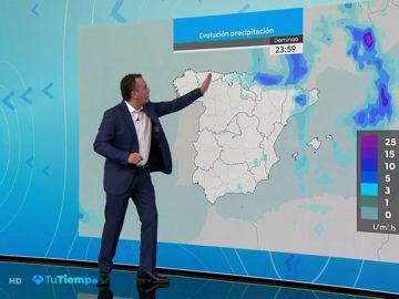 Posibilidad de chubascos y tormentas localmente fuertes en el entorno de Pirineos