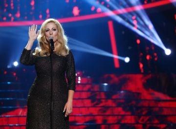 María Villalón realiza una actuación mágica de 'Skyfall' como Adele
