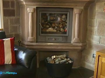 Este fin de semana, en Palencia comienza la temporada de chimeneas