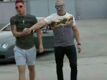 Imagen del videoclip en el que aparece el narcotraficante