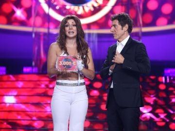 Mimi se proclama ganadora de la segunda gala de 'Tu cara me suena' como Thalía
