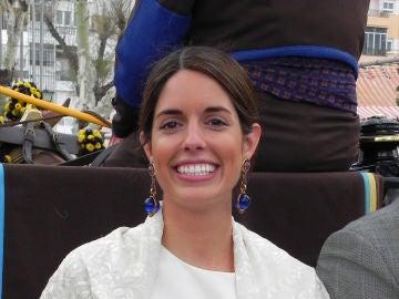 Sofía Palazuelo, mujer de Fernando Fitz-James, en la Feria de Abril de Sevilla