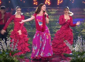 Isabel Pantoja se cuela en la tercera gala de 'Tu cara me suena'