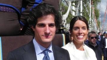 Duque de Húescar y Sofía Palazuelo