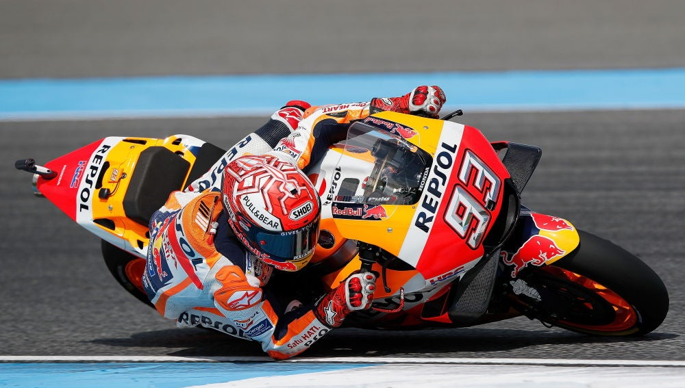 Marc Márquez, en el Chang International Circuit