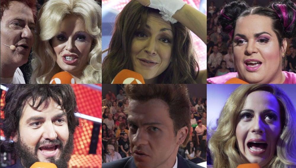 Los concursantes hacen autocrítica tras segunda gala de 'Tu cara me suena'