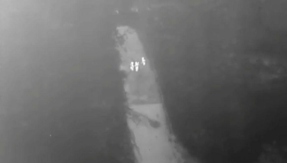 La Policía inglesa utiliza un dron con cámara térmica para encontrar una joven que había sido violada