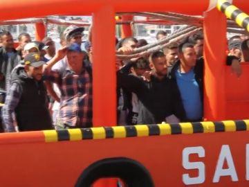 Más de 1.100 inmigrantes rescatados en las costas españolas durante el fin de semana