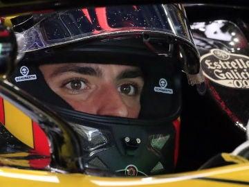Carlos Sainz, en el trazado de Suzuka