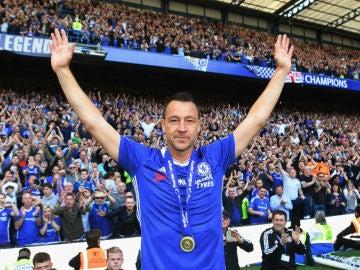 Terry, en su etapa en el Chelsea