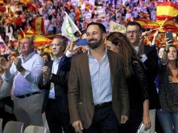 Vox llena el Palacio de Vistalegre de Madrid
