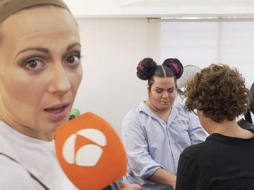 María Villalón desvela los secretos mejor guardados de maquillaje y caracterización de la segunda gala de 'Tu cara me suena'