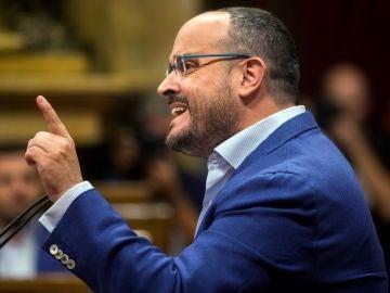 El diputado del PPC Alejandro Fernández