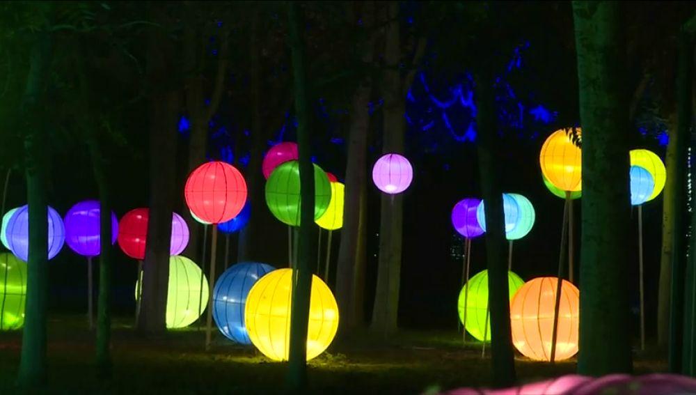 La ciudad china de Panjin celebra el Festival Internacional de las luces