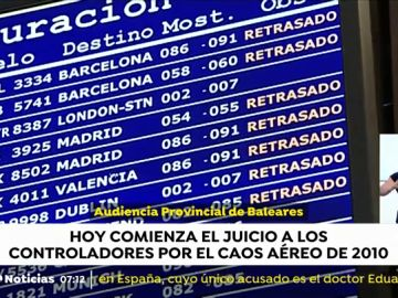 Comienza el juicio a los controladores de Baleares por el caos aéreo de 2010
