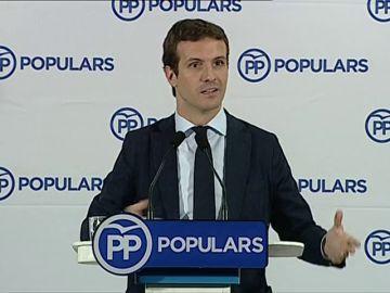 """Casado: """"Queremos liderar el centro-derecha en España"""""""