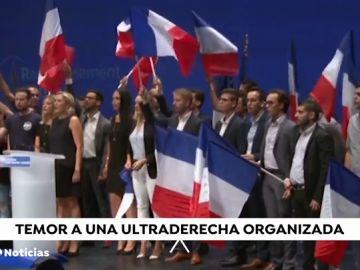 """Salvini y Le Pen auguran una """"revolución"""" soberanista para """"salvar"""" Europa"""