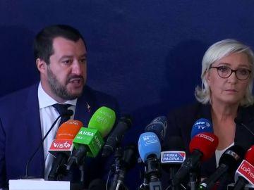 Salvini y Marine Le Pen van a presentarse juntos a las elecciones europeas de mayo
