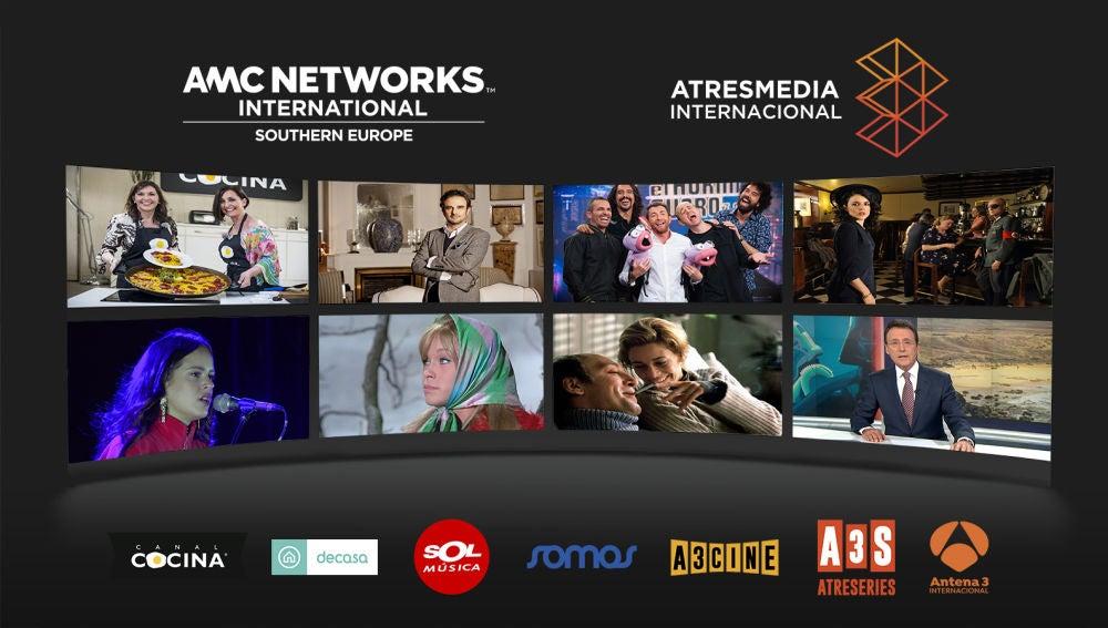 AMC Networks y Atresmedia Internacional