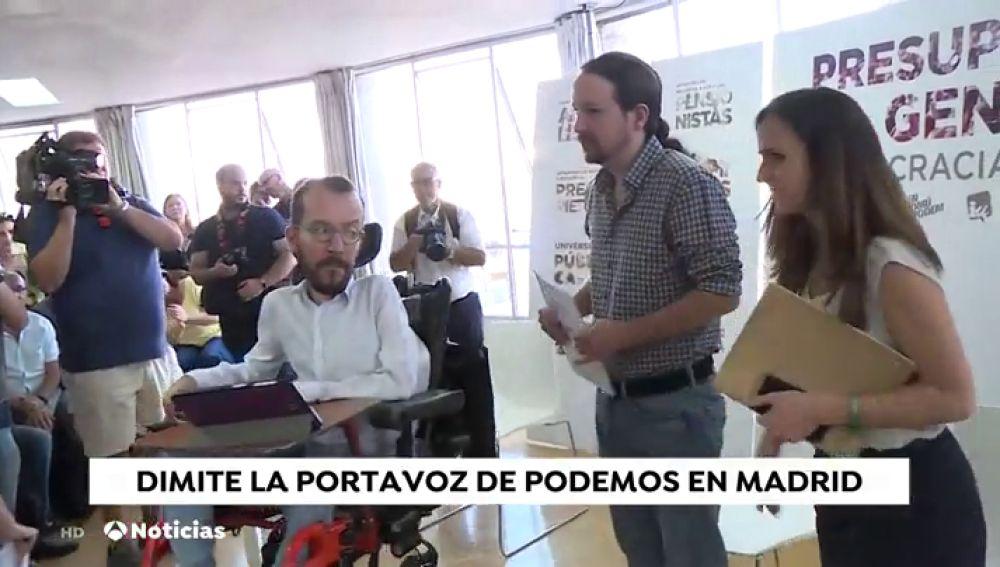 La dimisión de Ruiz-Huerta despierta voces que piden una reflexión a Podemos