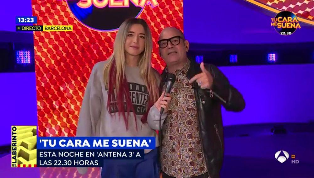 """Mimi y José Corbacho antes del programa de 'Tu cara me suena' de esta noche: """"La gala de hoy es la mejor"""""""