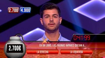 Descubre al concursante capaz de igualar los magníficos números de 'Los Lobos' en la bomba clasificatoria de '¡Boom!'